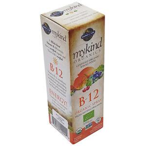 Garden of Life Vitamin B12 Spray 58ml Mykind Organics Certified Organic Vegan