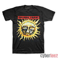 SUBLIME T-Shirt Sun Logo Black Brand New Authentic Rock Tee S M L XL XXL