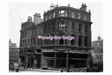 pu1782 - Sheffield - Angel St.General Ins.Corp. Building destroyed - photograph