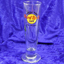 "New Orleans Hard Rock Cafe  9"" Tall Pilsner Beer Glass NOLA"