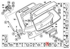 Genuine BMW ROLLS-ROYCE Alpina Hybrid M6 X6 Z4 Drophead Stop Buffer 51237049946