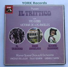 SLS 5066 - PUCCINI - Il Trittico GOBBI / DE LOS ANGELES - Ex 3 LP Record Box Set