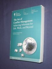 Teaching Co Great Courses TRANSCRIPTS  :  THE ART OF CONFLICT MANAGEMENT  sealed