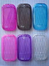 Cover case custodia plastica trasparente transparent per Samsung S3650 Corby