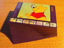DISNEY TREASURES SERIES 3 COMPLETE SET OF 45 WINNIE THE POOH CARDS