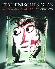 Fachbuch Italienisches Glas Murano & Mailand 1930-1970 sehr wertvolles Handbuch