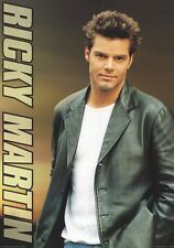 RICKY MARTIN POSTER ~ LEATHER JACKET 24x34 Music
