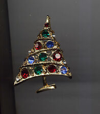 WEISS  BOLD CHRISTMAS TREE PIN