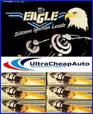 IGNITION LEADS,PLATINUM PLUGS MITSUBISHI TRITON,MK,ML,2003-06-6G74-6G72 #E56186