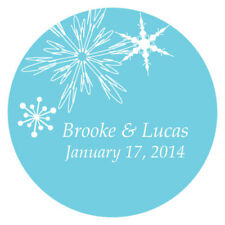36 Winter Finery Large Stickers Wedding Favor Seals