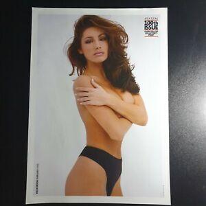 """Maxim """"Kelly Brook"""" Collectors Print (Rare)(301)"""