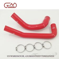Silicone Radiator Hose Clamps Kit Fit 87 06 Jeep Wrangler Yjtj 24l42l Red