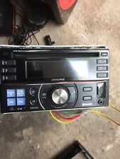ALPINE Double Din Stereo Cd Player Mp3 Aux In