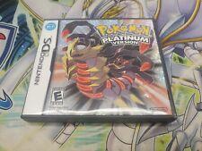 Pokemon Platinum DS (NO GAME) Case Original Artwork Only!