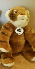 WWF World Wildlife Federation Plush Tiger Stuffed Animal