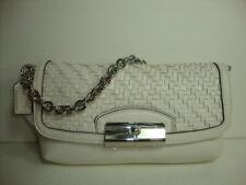 Coach kristin Wov Leather fashion wristlet with chain  47479