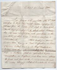 More details for georgian document dated 1831 to preston regarding debts from an estate financial