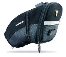 NEW Topeak Aero Wedge Pack - Large Bicycle/Bike Seat Bag w/ QuickClick Fixer