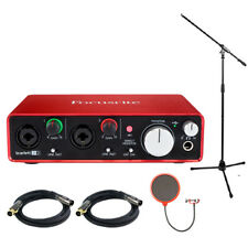 Focusrite Scarlett 2i2 USB Audio Interface (2nd Generation) w/ Pro Bundle