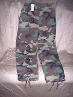 Genuine Military BDU Pants XS Short Summer Woodland Camo Pants Army Pants Bdus