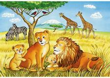 Ravensburger Elephants Lions & Company 2x12pc Puzzle 07606