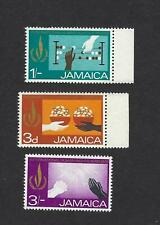 Jamaica Unissued Set of 3 MNH Mint Never Hinged Human Rights Stamps