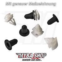 10x Clips de fijación Listón Protector Para Vw Skoda Seat Audi 3c0853585