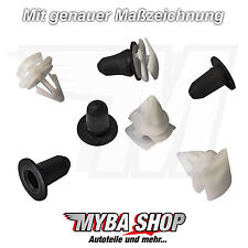 10x Befestigungs Clips Schutzleiste für VW Skoda Seat Audi | 3C0853585 3C0853585