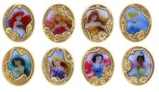 Disney Pin Princesses / Princess Gold Frame Mystery Collection Complete Set of 8