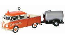 1:24 Scale Volkswagen-Type 2 T1 Service Pickup and Oil Trailer Diecast MotorMax
