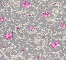 Versace 3 Home Wallpaper 343255 Ornament Schmetterlinge Tapete Designtapete