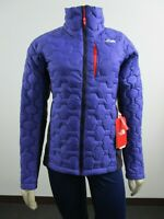 Womens The North Face Thermoball Impendor Hybrid Puffer Insulated Jacket Purple