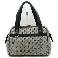 Louis Vuitton Hand Bag M92214 Josephine PM Navy Blue Monogram Mini lin 1709920