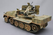 ITALERI 370 -- GERMAN SWS ARMORED HALFTRACK WITH FLAK 43 --1/35