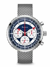 Bulova Men's Special Edition Six Hand Stars and Stripes Chronograph Watch 96K101