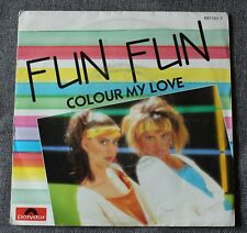 Fun Fun, colour my love , SP - 45 tours