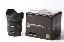 SIGMA EX 10-20mm 1:4-5.6 DC HSM für Canon