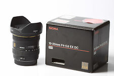 SIGMA EX 10-20mm 1:4-5.6 DC HSM per Canon