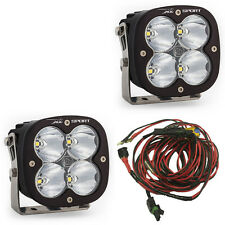Baja Designs XL Sport PAIR LED Lights Hi Speed Spot Beam ATV UTV RZR AUX 567801