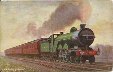 Tuck Oilette Postcard Famous Expresses Series IX - Flying Scotsman, G.N.R. #9662