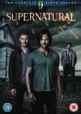 Supernatural - Season 9 DVD 2015 R2 Genuine