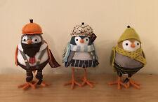 2020 Target Spritz Thanksgiving Fall Harvest Fabric Birds - Lot Set of 3 Htf