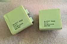 4uf 400v 10% ASC  DLE3 CAPACITOR 2 pieces