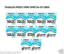 TAGALOG CHIP for Enter Tech Entertech Magic Sing Mic On Stage ET28KH