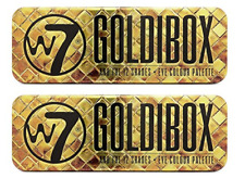 W7 Goldibox And The 12 Shades Golden Eyeshadow Palette (2 Pack)
