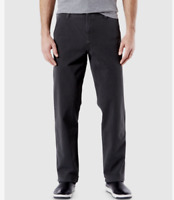 DOCKERS Downtime Khaki Smart 360 Flex Waist Pants Classic Stretch Gray Pick Size
