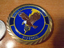 USAF 313th Expeditionary Operations Support Squadron EOSS LT COL Challenge Coin
