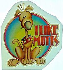 Original I Like Mutts Iron On Transfer Dog