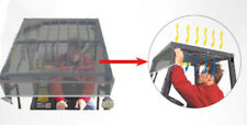 More details for forklift pvc canopy & visor, tinted & protects operator from sun, debris, rain