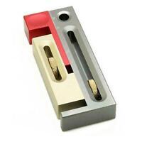 1pc Regulator W/ Push Table Saw Slot Movable Measuring Woodworking Tool Blo U4E6